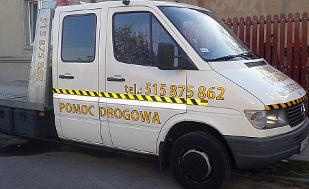 Oklejanie samochodów Ostrowiec - Sprinter autoholowanie