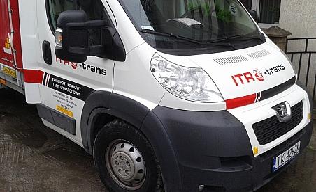 Oklejanie samochodów Kielce - Paugeot Boxer ITR-trans