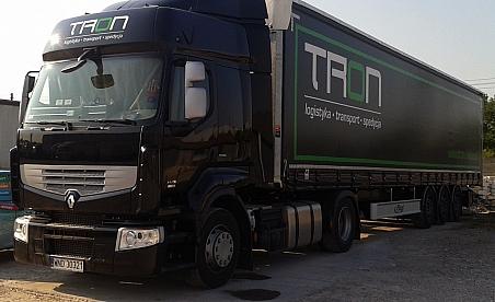 Oklejanie ciężarówek Kielce - Renault Premium - Tron