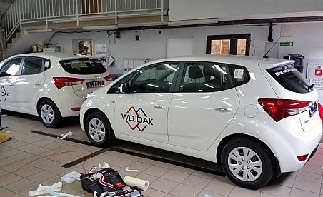 Oklejanie samochodów Kielce - Hyundai ix30 - Wojdak