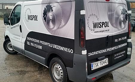 Oklejanie samochodów Kielce - Opel Vivaro - Wispol