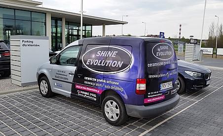 Oklejanie samochodów Kielce - VW Caddy - Shine evolution