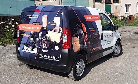 Oklejanie samochodów Kielce - Fiat Fiorino - After Parts