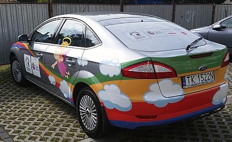 Oklejanie samochodów Łopuszno - Ford Mondeo - Barlinek, Cersanit