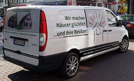 Oklejanie samochodów Kielce - Mercedes Vito