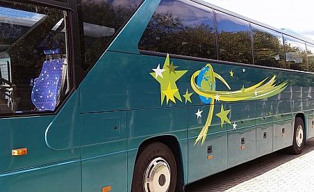 Oklejanie samochodów Kielce - autobus