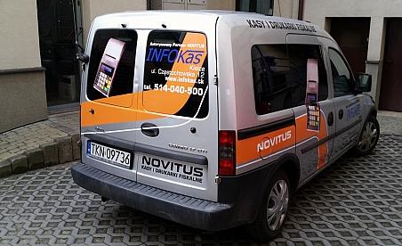 Oklejanie samochodów Kielce - Opel Combo