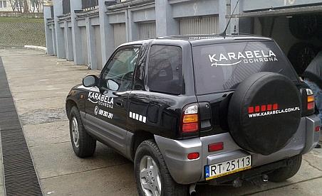 Oklejanie samochodów Kielce - Karabela