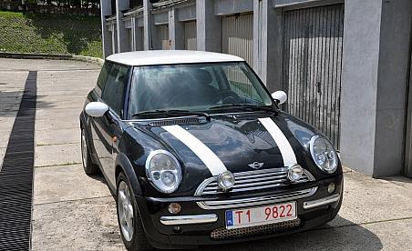 Zmiana koloru samochodu Kielce - mini cooper