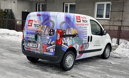 Oklejanie samochodów Kielce Fiat Florino - FeiYan