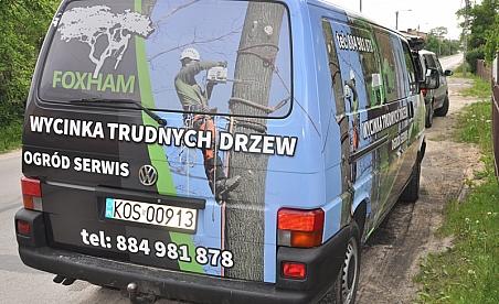 Oklejanie samochodów Kielce - Volkswagen T4 - Foxham