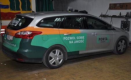 Oklejanie samochodów Warszawa - Ford Mondeo - Porta Drzwi