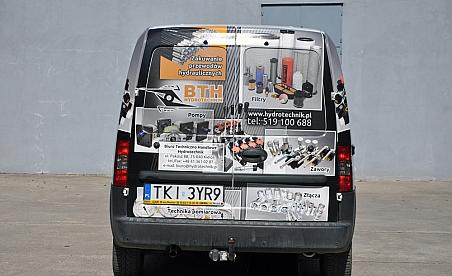 Oklejanie samochodów Kielce Opel Combo - BTH Hydrotechnik