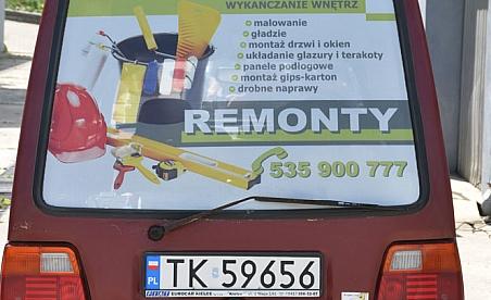 Oklejanie samochodów Kielce - Polonez
