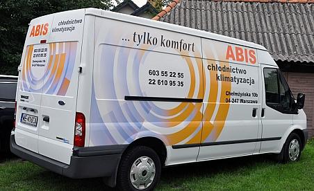 Oklejanie samochodów Warszawa - Ford Transit