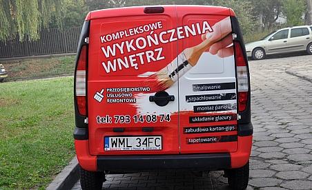 Oklejanie samochodów Ostrowiec - Fiat Doblo