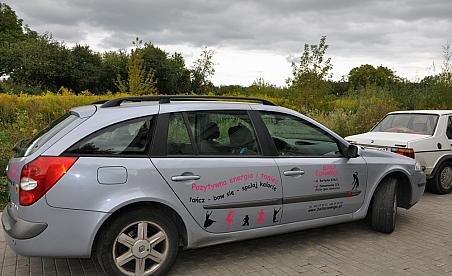 Oklejanie samochodów Warszawa - Renault Laguna baila Conmigo
