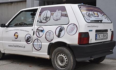 Oklejanie samochodów Ostrowiec - Fiat