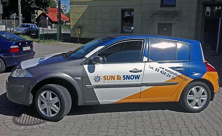 Oklejanie samochodów Kielce - Renault Megane
