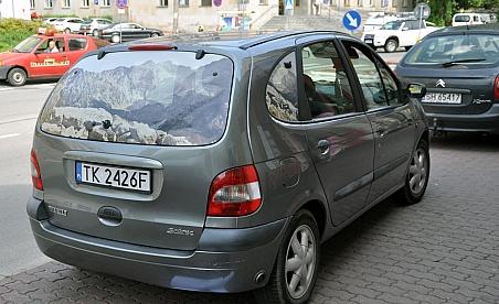 Oklejanie samochodów Renault Scenic