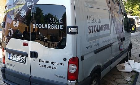 Oklejanie samochodów Kielce - Renault Master