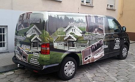 Oklejanie samochodów Kielce - Vwolkwagen T4