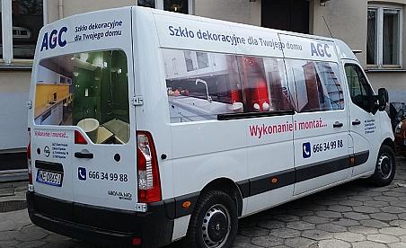 Oklejanie samochodów Kielce - Opel Movano