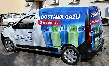 Oklejanie samochodów Kielce - Dacia Docker