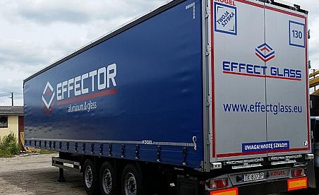 Oklejanie samochodów Kielce - ciężarówka