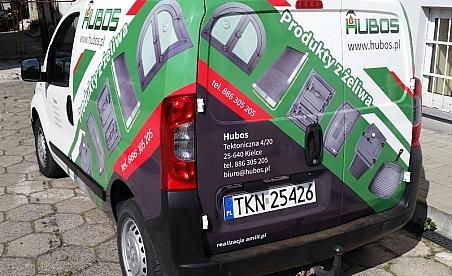 Oklejanie samochodów Kielce - Fiat Fiorino