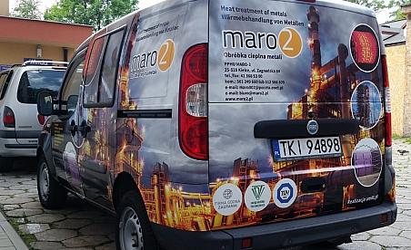 Oklejanie samochodów Kielce - Fiat Doblo
