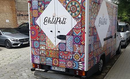 Oklejanie samochodów Kielce - Food Truck
