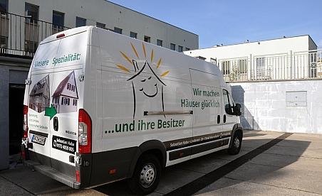 Oklejanie samochodów Kielce - Peugeot Boxer