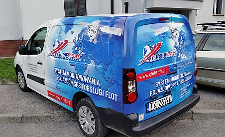 Oklejanie samochodów Kielce - Citroen Berlingo - Globtrak