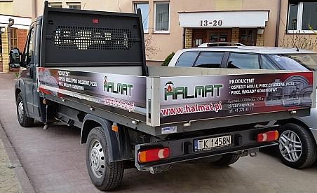 Oklejanie samochodów Kielce - Fiat Ducato - Halmat