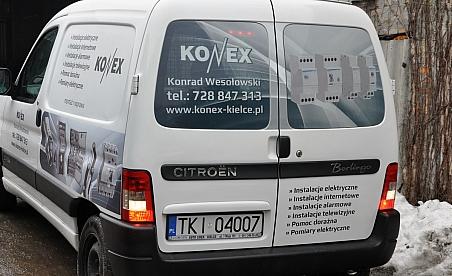 Oklejanie samochodów Kielce - Citroen Berlingo Konex